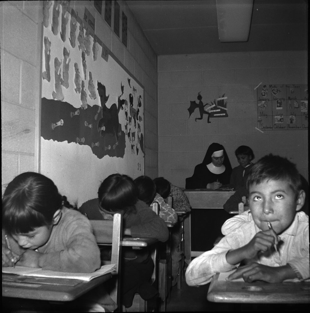 Residential school classroom II