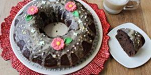Rețetă prăjitură festivă cu cafea cappuccino by Lecturi și Arome