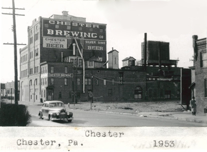 Chester Brewery - 1953