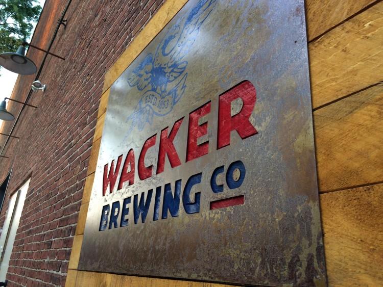 New Wacker Brew Pub Sign
