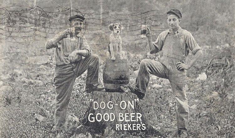 Reiker Brewery Postcard