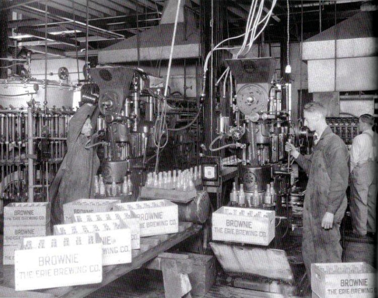 Erie Brewery Bottling Line