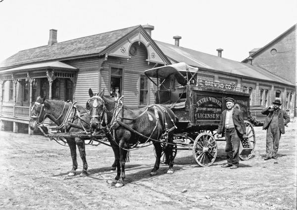 Erie Brewery Delivery Wagon