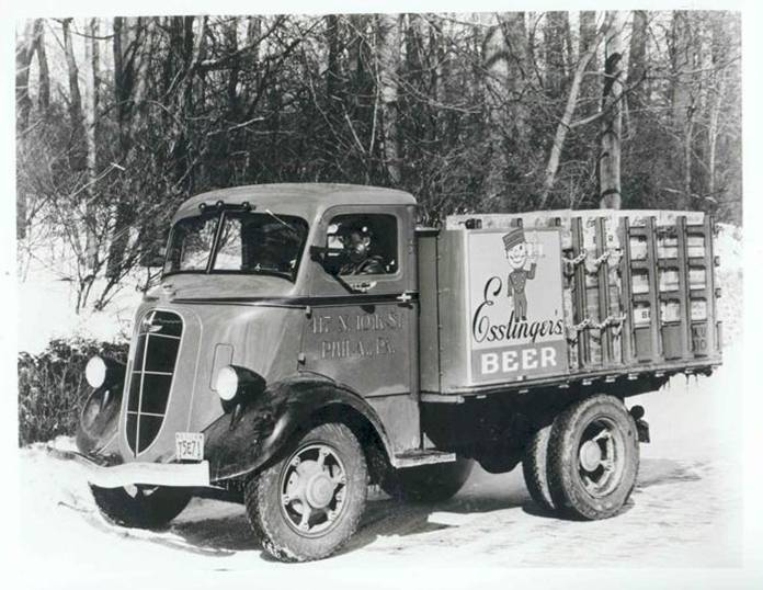 Esslinger's Brewery Delivery Truck