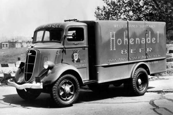 Hohenadel Brewery Beer Delivery Truck