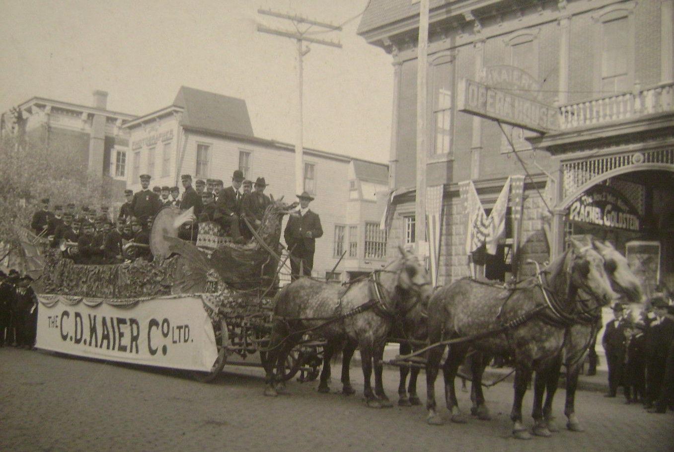 Kaiser's Brewery Parade Wagon