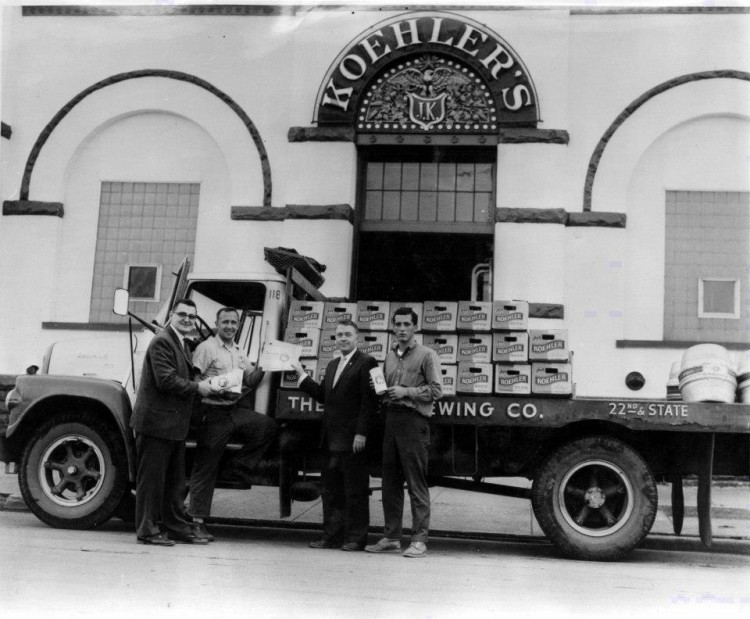 Koehlers Brewery Delivery Truck