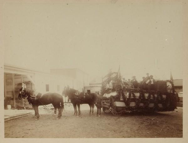 Reiker Brewery Parade Wagon