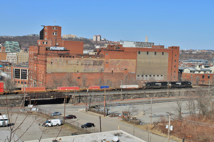 Side of the Duquesne Brewery - Current