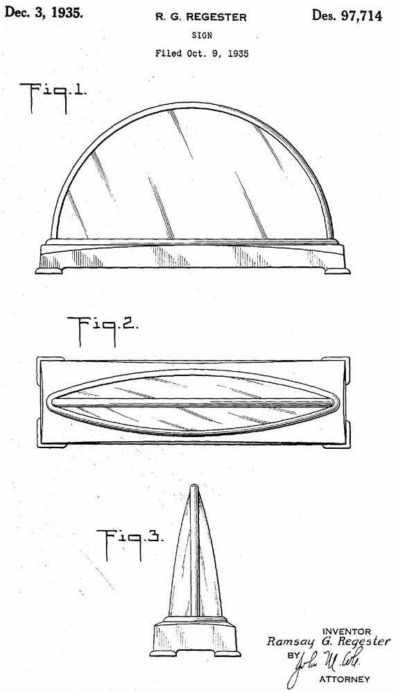 Gillco Cab Light Sign Design Sketch