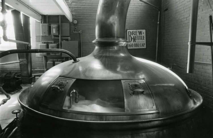 St. Mary's Brewery Kettle