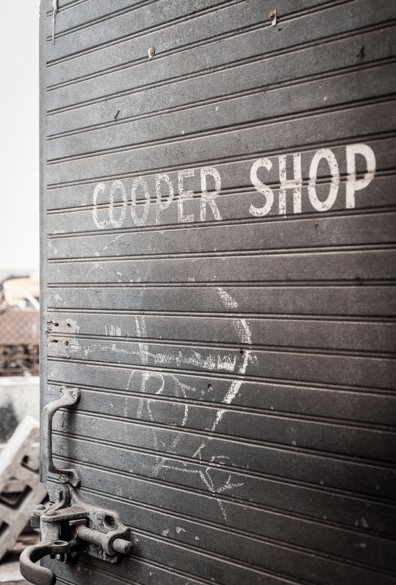 Victor Brewery Cooper Shop Door