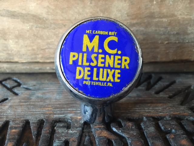 MC Pilsener De Luxe ball tap knob robbins