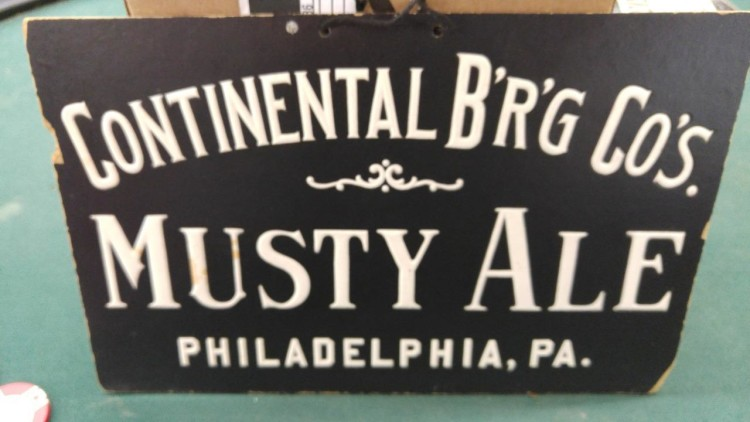 Continental Brewing Company Sign