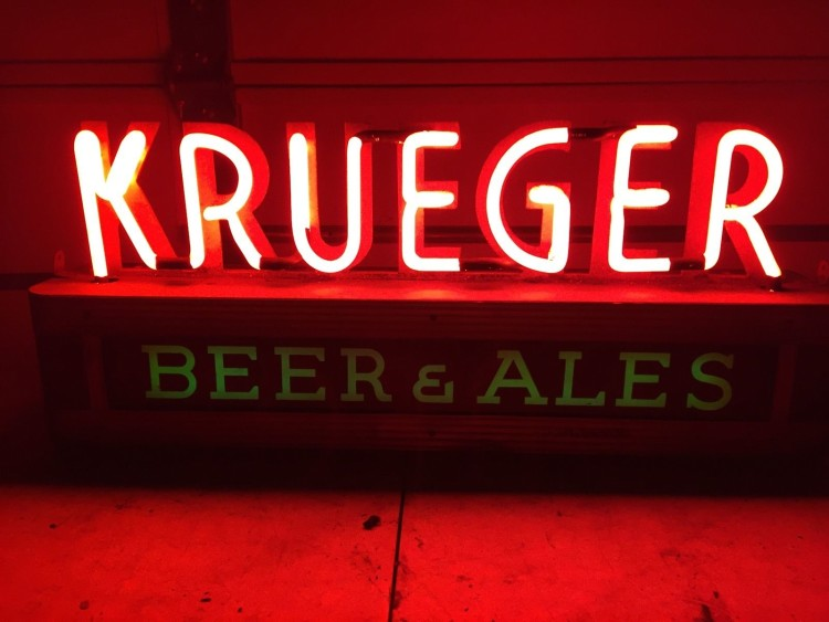 Krueger Beer & Ale Sign