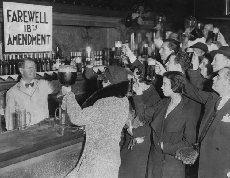 Repeal of Prohibition in 1933