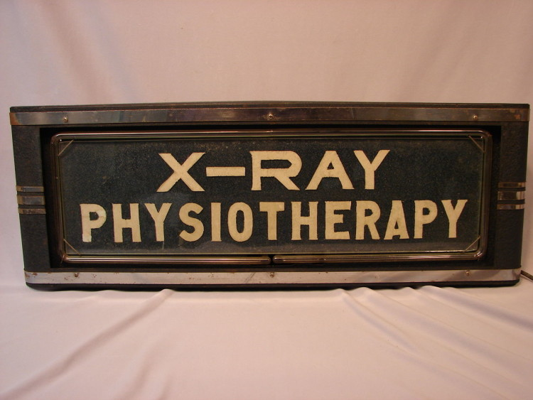 Neon Products Inc. X-Ray Sign