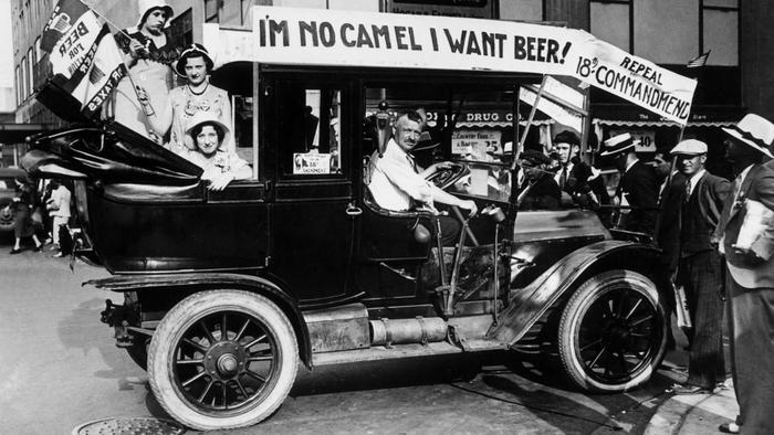 Repeal the 18th Amendment Car Float