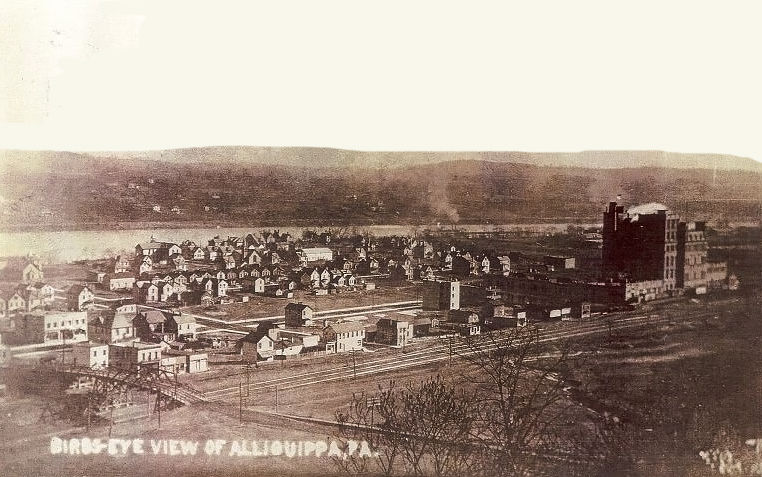 Aliquippa, PA (Mutual Union Brewery to the Right)