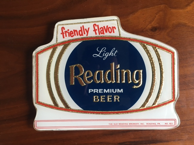 Reading Premium Beer Beech ROG Sign