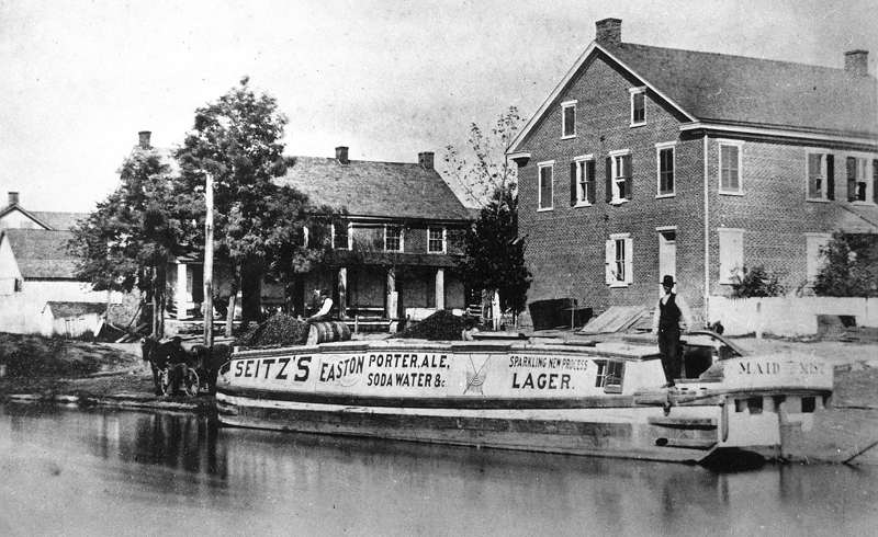 Seitz's Brewery River Canal Boat