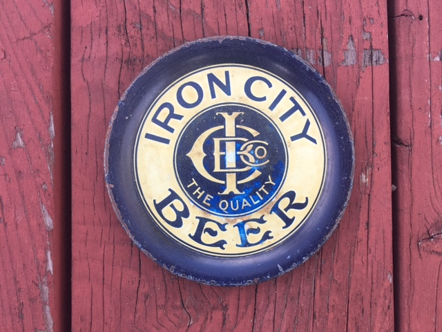 Iron City Beer Tip Tray