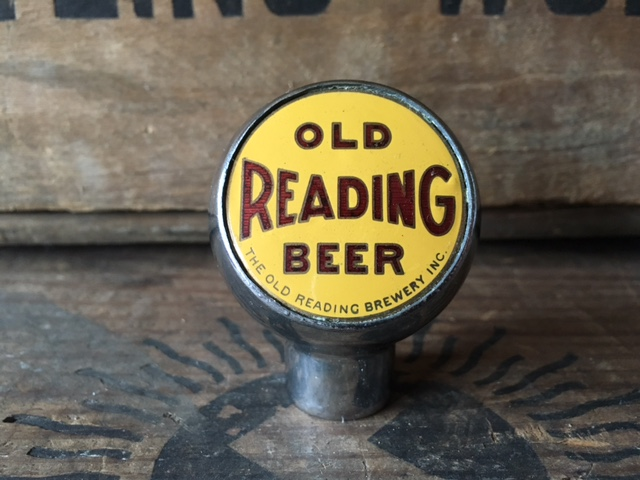 Old Reading Beer Ball Tap Knob