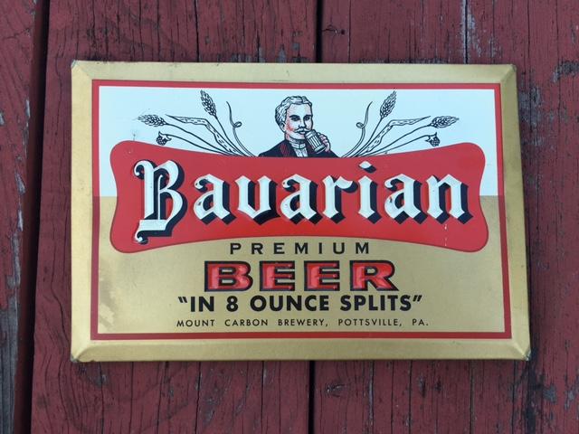 Bavarian Premium Beer Tin Sign