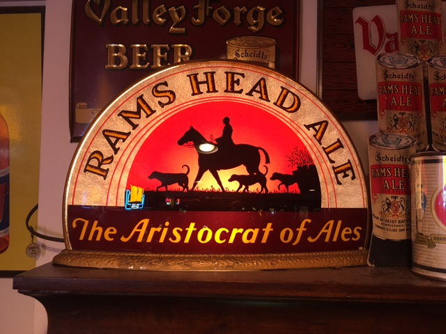 Rams Head Ale Gillco Cab Light