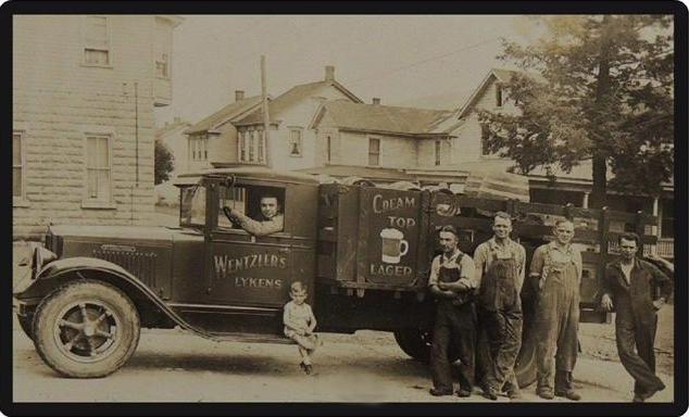 Wentzler Brewery Beer Keg Delivery Truck