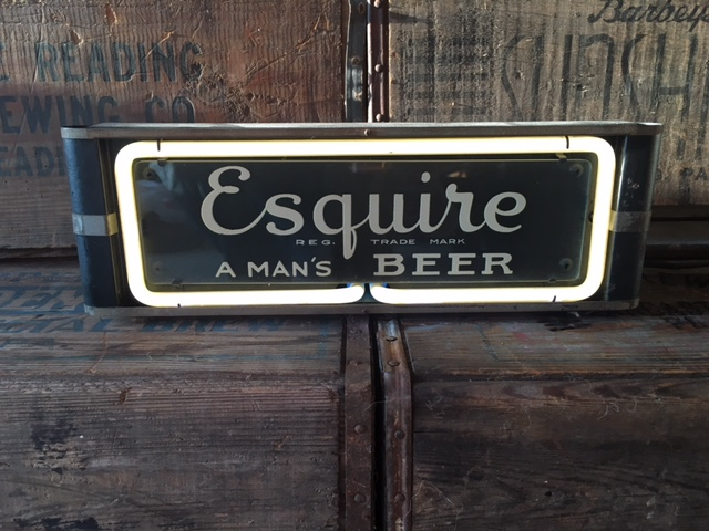 Esquire Beer Neon Sign Lackner Sign Company