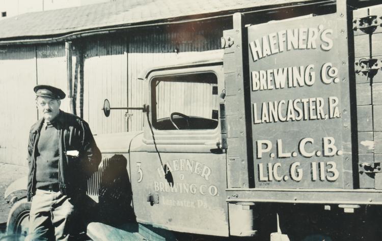 Hefner's Brewery Beer Delivery Truck