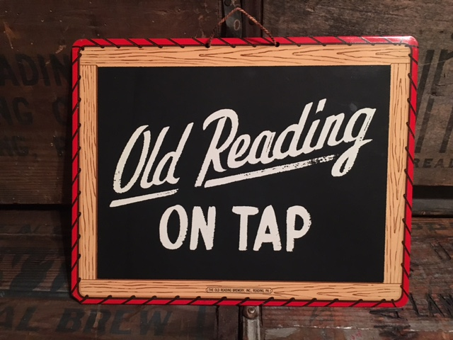 Old Reading Beer Chalkboard Signs