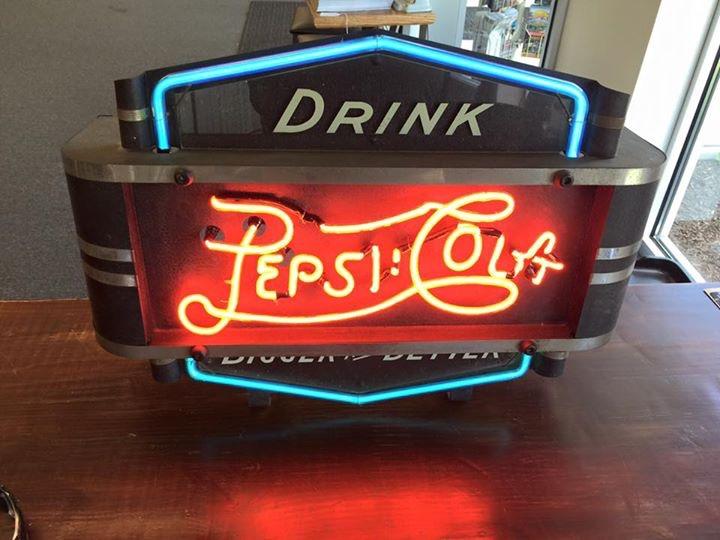 Pepsi Cola Neon Sign