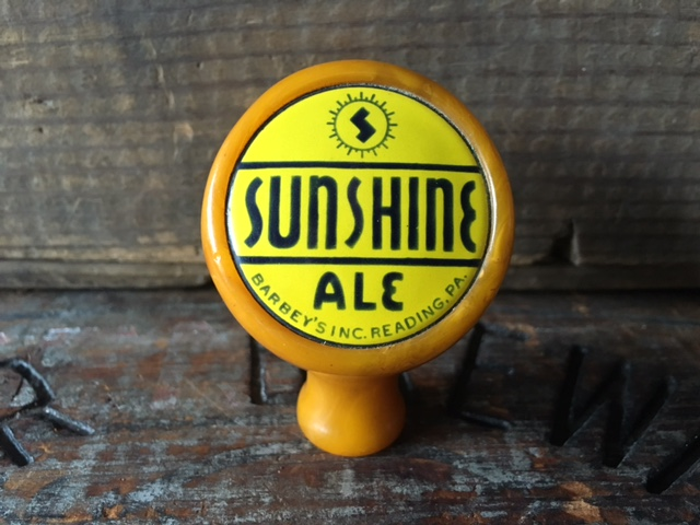 Sunshine Ale Ball Tap Knob