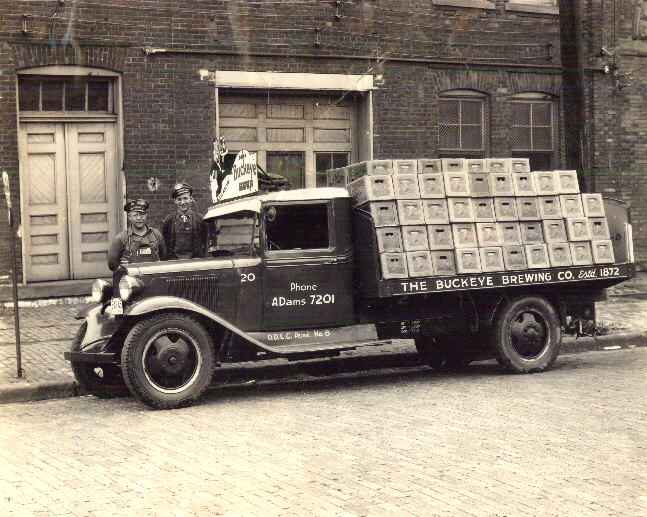 Buckeye Brewery Beer Delivery Truck