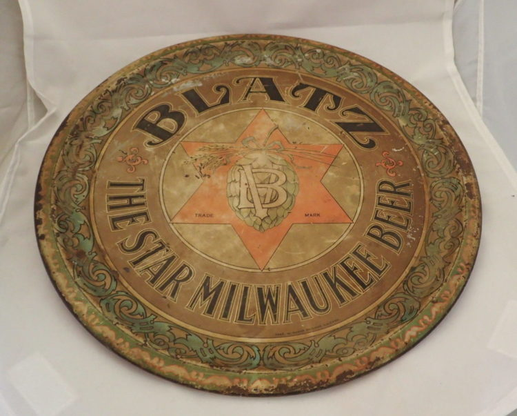 Blatz Beer Charger Sign
