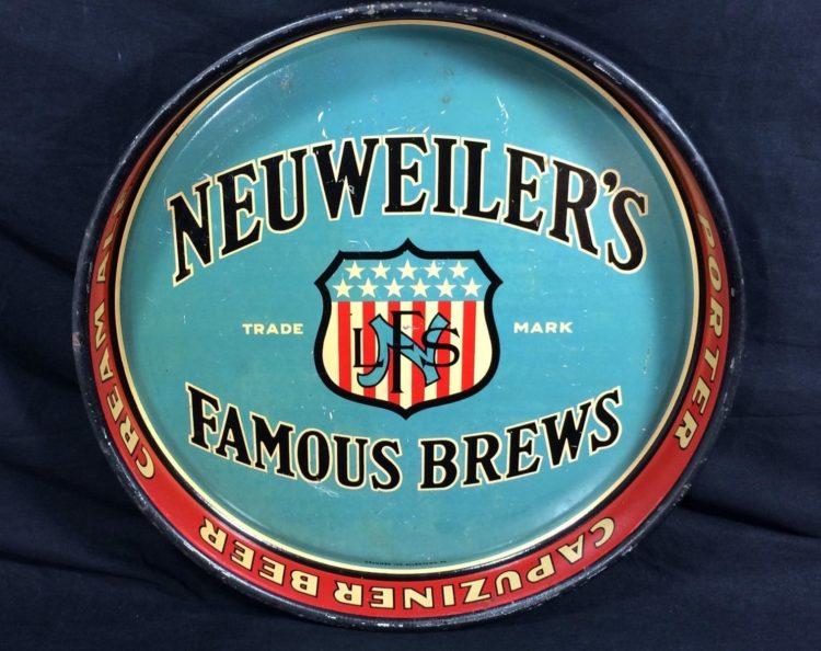neuweiler famous brews beer tray grammes inc allentown