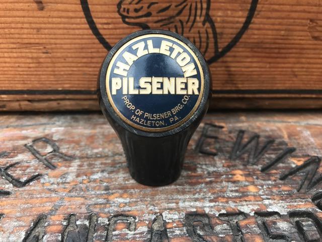 hazleton pilsener beer ball tap knob fisher products inc true name