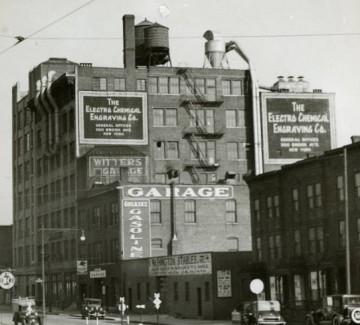 Electro-Chemical Engraving Company factory building new york