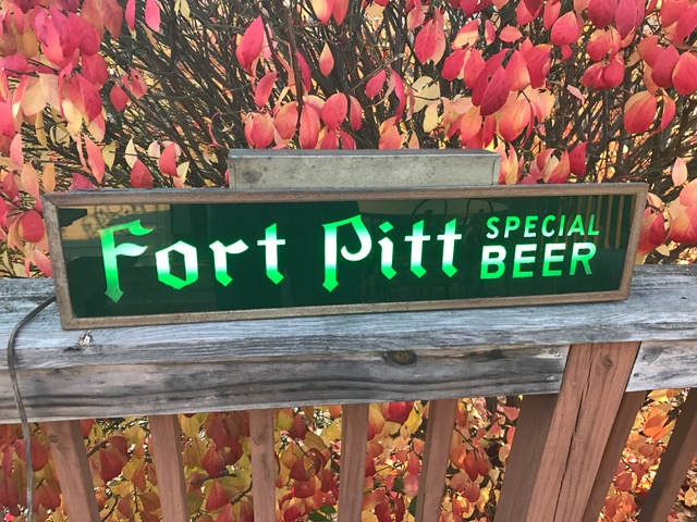 Fort Pitt Special Beer Lighted Sign