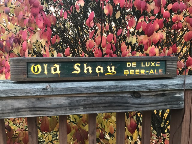 Old Shay Beer Ale Lighted Sign