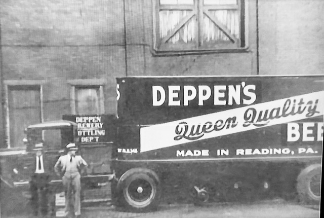 deppens queen quality beer delivery truck