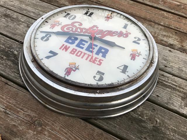esslinger beer gillco clock