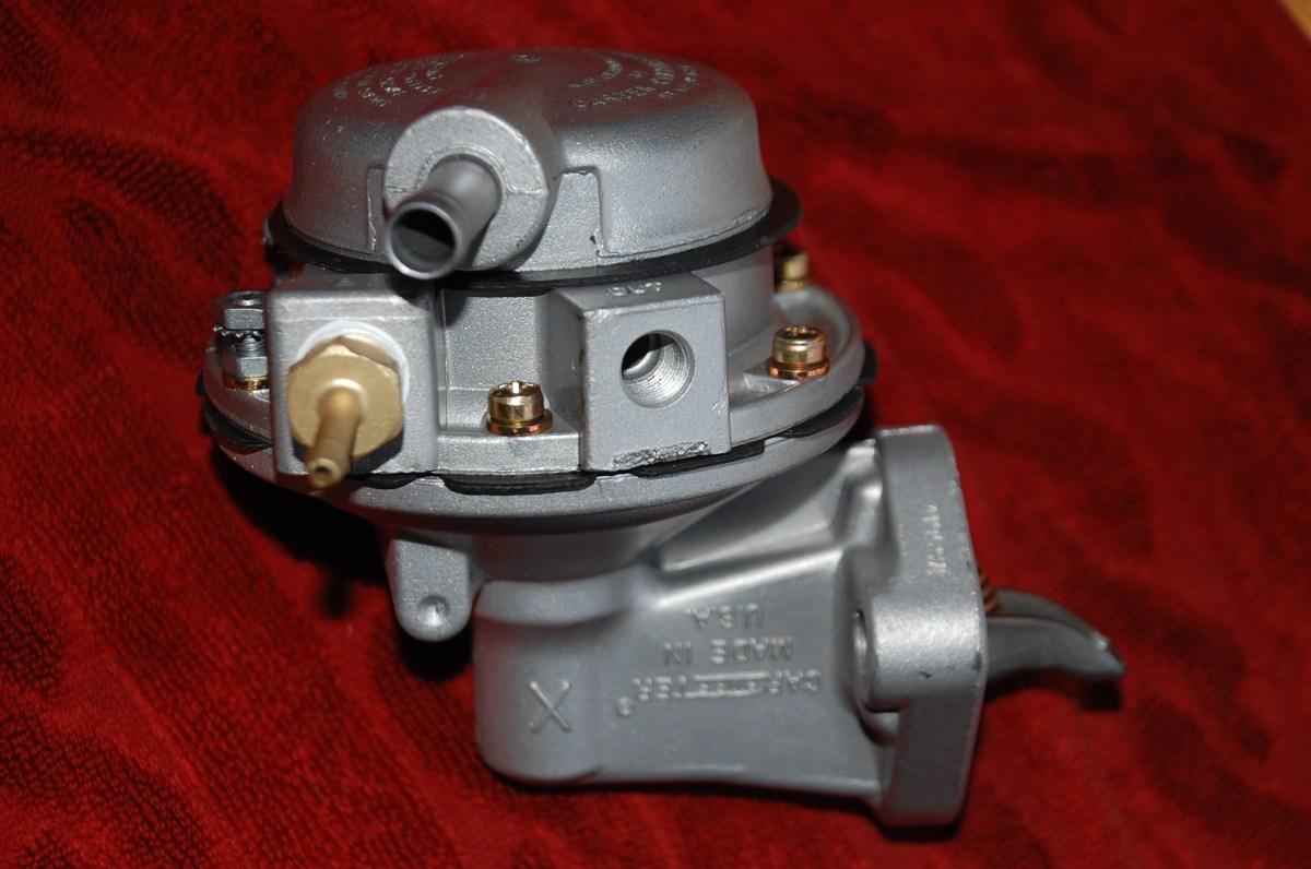 Rebuilt Carter 3-Port Fuel Pump (The right stuff!)