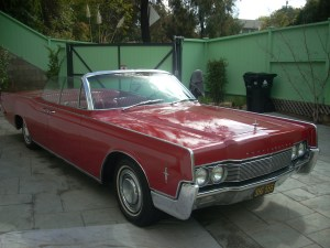 1966 Lincoln Red