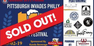 pittsburgh invades philadelphia 2019 Archives - Breweries in PA