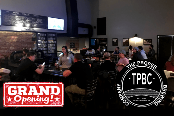 Grand Opening Proper Brewing Second Location July 13th