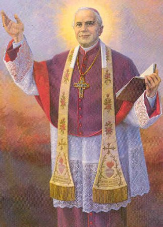 Święty Józef Sebastian Pelczar - obraz kanonizacyjny