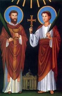 Święci Marcelin i Piotr